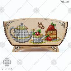 КДС_005 Корзинка для сладостей под вышивку бисером ТМ Virena