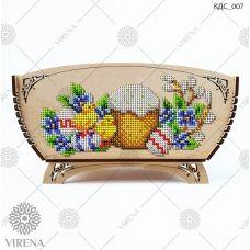 КДС_007 Корзинка для сладостей под вышивку бисером ТМ Virena