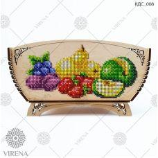 КДС_008 Корзинка для сладостей под вышивку бисером ТМ Virena