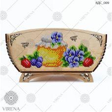 КДС_009 Корзинка для сладостей под вышивку бисером ТМ Virena