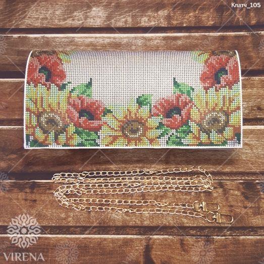 Клатч_105 Бисерная заготовка клатч. ТМ Virena