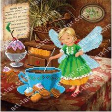 БИС-8818 Волшебный кофе. Схема для вышивки бисером Арт Лар