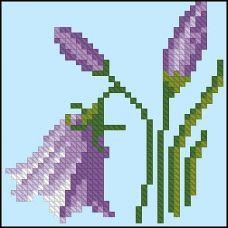 ФЧК-6001 Колокольчики. Схема для вышивки бисером Феникс