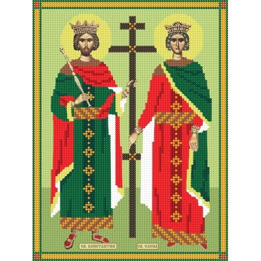 297а Константин и Елена. Схема для вышивки бисером СвитАрт