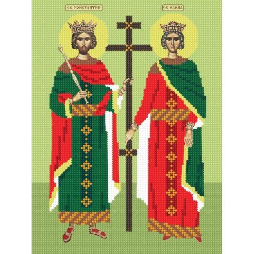 297b Константин и Елена. Схема для вышивки бисером СвитАрт