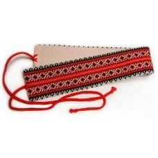 КР-01 Пояс крайка для вышивки бисером или нитками. ТМ ВДВ