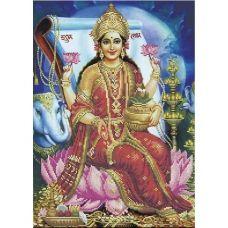 А3-К-858 Лакшми - богиня благополучия. Схема для вышивки бисером ТМ Acorns
