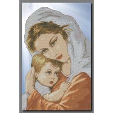 А-084 Mама и ребенок. Схема для вышивки бисером ТМ Орхидея
