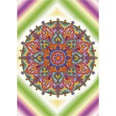 А3-К-817 Мандала Любовь и Здоровье. Схема для вышивки бисером ТМ Acorns