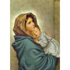 А3-К-609 Мать и младенец. Схема для вышивки бисером ТМ Acorns