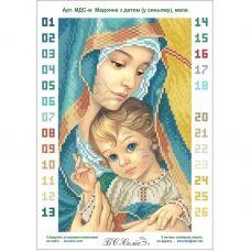 МДС-м (набор) Мадонна с младенцем (в синем) маленькая. БС Солес