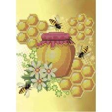 А5-Д-264 Мёд. Схема для вышивки бисером ТМ Acorns