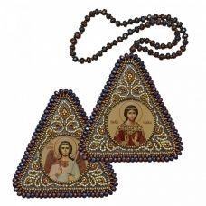 ВХ1229 Св. Мц. Надежда и Ангел Хранитель. Набор для вышивания двухсторонней иконы Нова Слобода