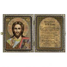 СА7101 Христос Спаситель. Набор для вышивки бисером Нова Слобода