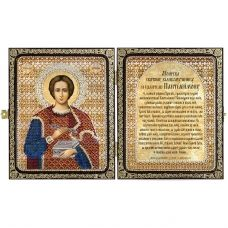 СА7408 Св.Великомученик и Целитель Пантелеймон. Набор для вышивки бисером Нова Слобода