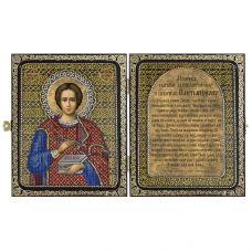 СА7108 Св.Великомученик и Целитель Пантелеймон. Набор для вышивки бисером Нова Слобода