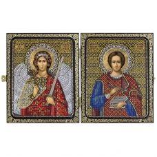 СА7203 Св.Вмч.Целитель Пантелеймон и Ангел Хранитель. Набор для вышивки бисером Нова Слобода