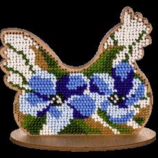 FLK-273 Набор для вышивания бисером по дереву Волшебная Страна