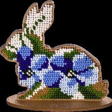 FLK-275 Набор для вышивания бисером по дереву Волшебная Страна