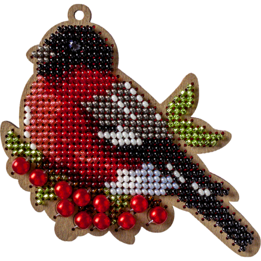 FLK-324 Набор для вышивания бисером по дереву. Волшебная Страна