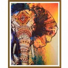 ДК1201 Слон. Набор для вышивки бисером Нова Слобода