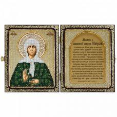 СЕ7105 Св. Прав. старица Матрона Московская. Набор для вышивки бисером Нова Слобода