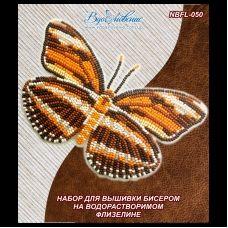 NBFL-050 Набор бабочка Dryadula Phaetusa на водорастворимом флизелине ТМ Вдохновение