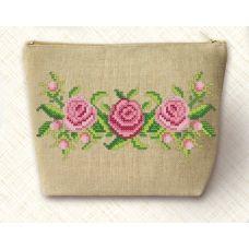 НБК-3-001 Набор для вышивания косметички Розы. Маричка