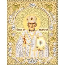 НИК-5325 Св.Николай Чудотворец (золото). Набор для вышивки бисером ТМ Маричка