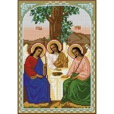 А4-И-319 Образ святой троицы. Схема для вышивки бисером ТМ Acorns