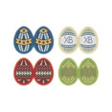 А3-К-501 Пасхальные яйца Христос Воскрес. Схема для вышивки бисером ТМ Acorns