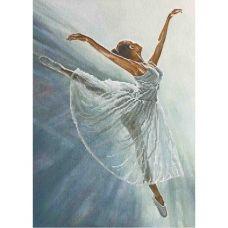А3-К-807 Прима-балерина. Схема для вышивки бисером ТМ Acorns