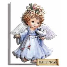 РТ130019 Ангел в голубом. Техника Папертоль. Тела Артис