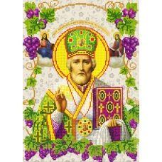 R-010с (А3) Св. Николай Чудотворец. Схема для вышивки бисером СвитАрт