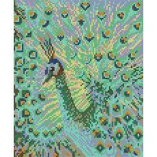 S-171 Райская птица. Схема для вышивки бисером ТМ Картины бисером