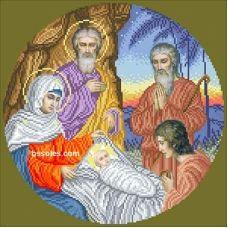 РХ-ІЗ (набор) Рождество Христово (ИЗ). Набор для вышивки БС Солес