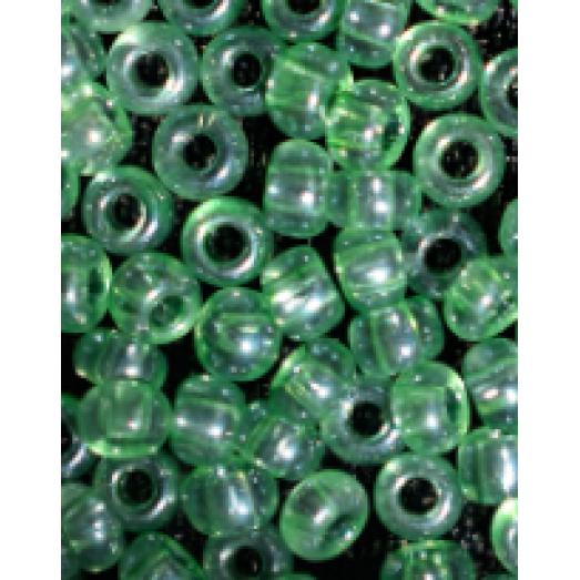 61161 Бисер Preciosa прозрачный зеленый