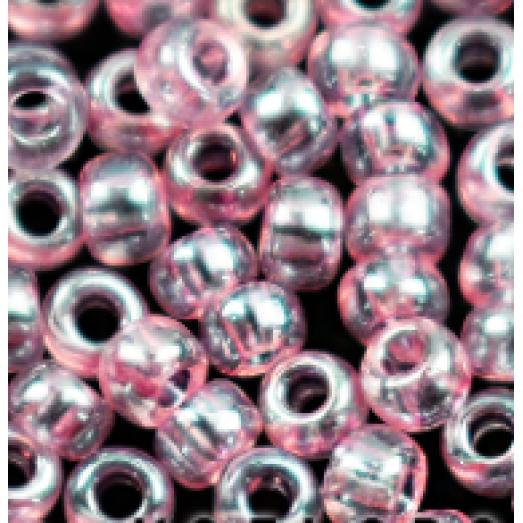 07612 Бисер Preciosa прозрачный розовый