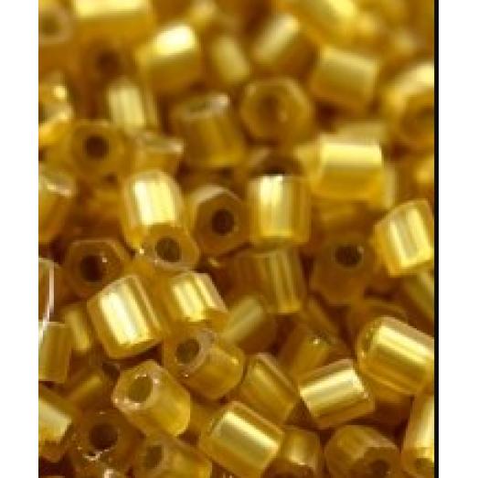 17020м Рубка Preciosa матовая золотая серебряная линия внутри