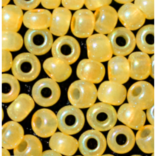 02681 Бисер Preciosa непрозрачный светло-желтый