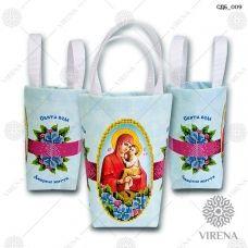 СДБ_009 Пошитая сумочка для банки (укр). ТМ Вирена