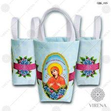 СДБ_015 Пошитая сумочка для банки (рус). ТМ Вирена