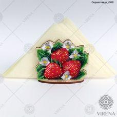СРВ-008 Деревянная салфетница для вышивки бисером ТМ Вирена