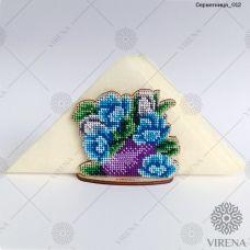 СРВ-012 Деревянная салфетница для вышивки бисером ТМ Вирена