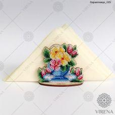СРВ-015 Деревянная салфетница для вышивки бисером ТМ Вирена