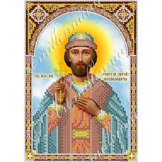 R-0092 Святой Георгий (Юрий). Схема для вышивки бисером Арт Миллениум