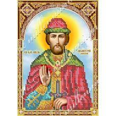 R-0116 Святой Дмитрий Донской. Схема для вышивки бисером Арт Миллениум