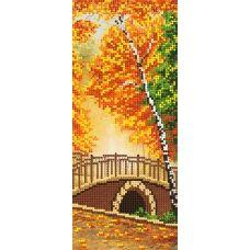 SI-054c Осенний мост. Схема для вышивки бисером СвитАрт