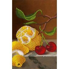 SI-182a(А5) Ветка лимона. Схема для вышивки бисером СвитАрт