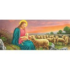 SI-247 (24*55) Иисус на поле. Схема для вышивки бисером СвитАрт